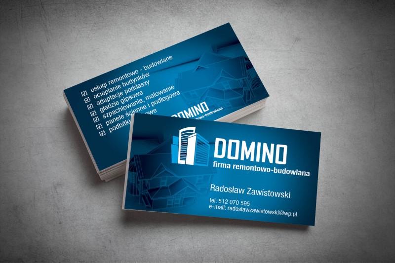 Wizytówka Domino Agencja Reklamowa Czyżkowskinet