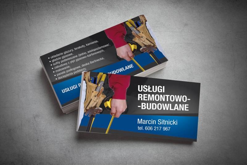 Wizytówka Usługi Remontowe Agencja Reklamowa Czyżkowskinet